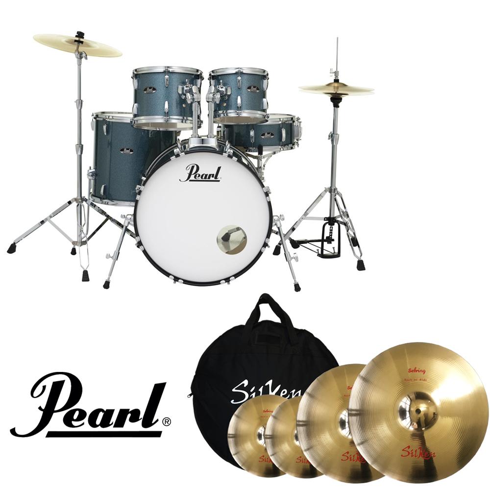 [★할인패키지★]  Pearl Roadshow SEBRING104 할인 패키지 (Silken Sebring 심벌세트)  / 제대로만든 보급형 드럼/ RS525C