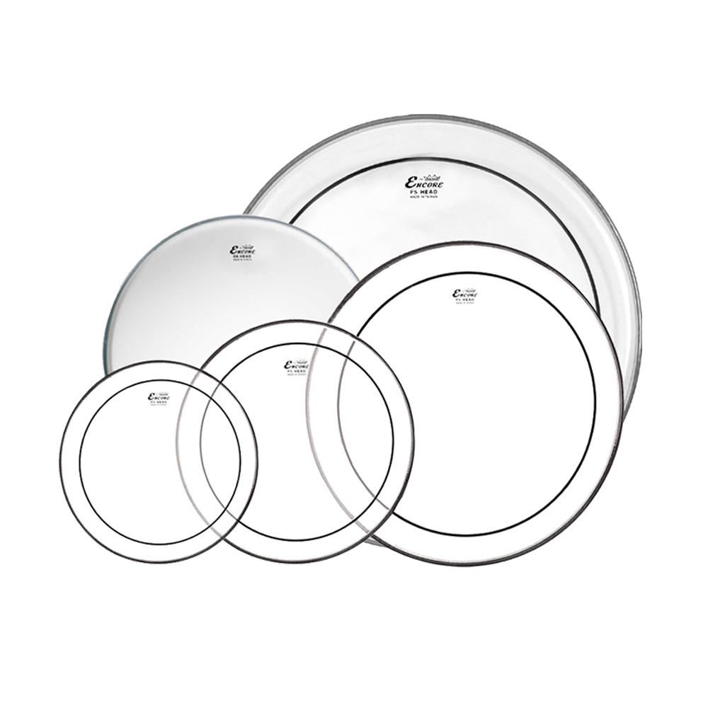 """Remo Encore Pro Pack 5기통 드럼 헤드 세트 (10,12,14,16,22"""") / EN-PS50-PP"""